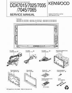 Kenwood Ddx7025 Service Manual Download  Schematics