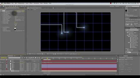 animated tron lines tutorial   effects youtube