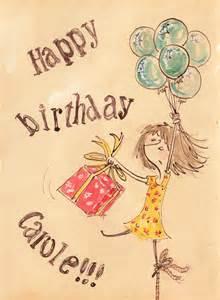 Happy Birthday Carole