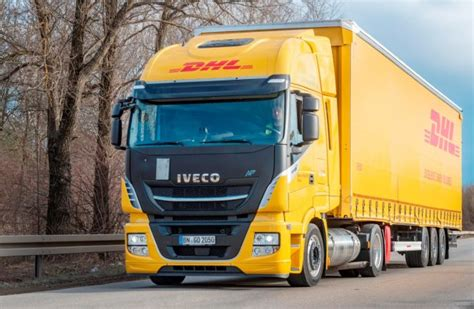 Dhl's First Lng Mega-trailer Truck Starts Work In Germany