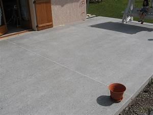 Dosage Beton Terrasse : terrasse en beton new terrasse beton decoratif high ~ Premium-room.com Idées de Décoration