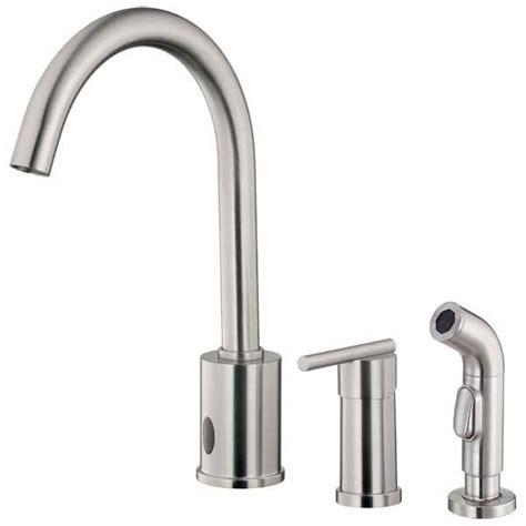 sensor kitchen faucet free sensor operated kitchen faucets