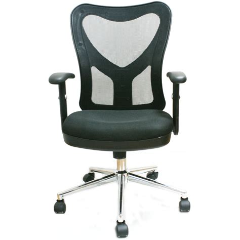 Techni Mobili Office Chair by Techni Mobili Mid Back Mesh Fully Adjustable Office Chair