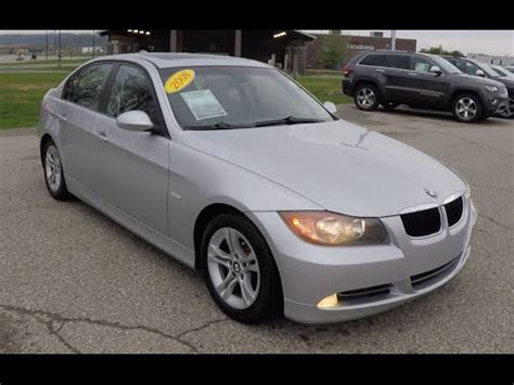 2008 Bmw 328 Review by Used 2008 Bmw 328i Silver Luxury Sedan Martinsville
