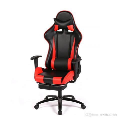 red gaming chair high  computer chair ergonomic design racing chair