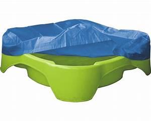 Bac À Sable Plastique : bac sable plastique avec housse de protection 96x96x24 ~ Melissatoandfro.com Idées de Décoration