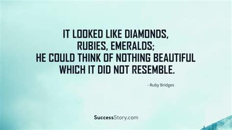 looked  diamonds