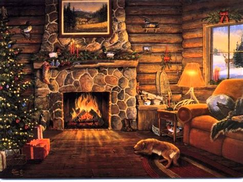 Hearth Of A Fireplace by A Selection Of Traditional French Christmas Carols Part I