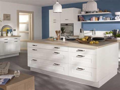 facade cuisine castorama cuisine blanche 20 idées déco pour s 39 inspirer deco cool