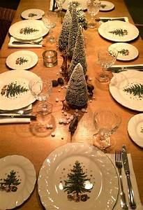 Tischdekoration Zu Weihnachten : ich glaube ich stehe im wald winterliche ~ Michelbontemps.com Haus und Dekorationen