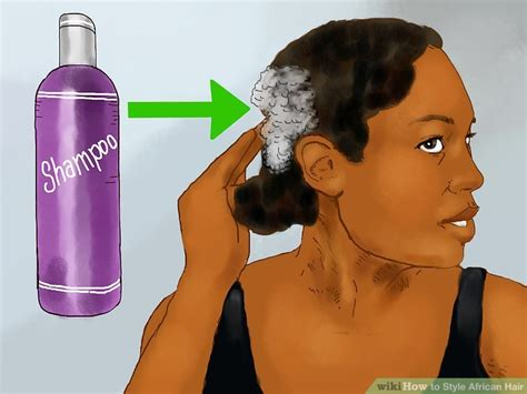 ways to style american hair 4 ways to style hair wikihow 4368