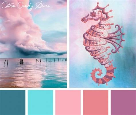 color inspirations cotton skies stitchpunk for the home sunset color palette