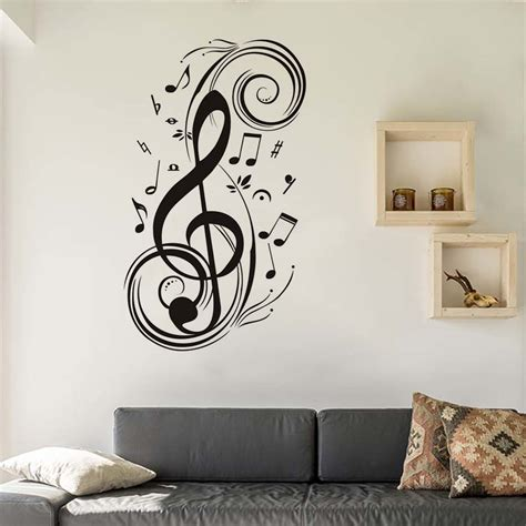 home decor stickers musical note home decor wall stickers 187 note gifts