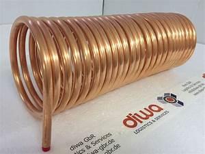 Kupferrohr 12 Mm : spirale aus kupferrohr 12x1mm weich aus 10m mit ca 13cm kupferrohrspirale ~ Buech-reservation.com Haus und Dekorationen