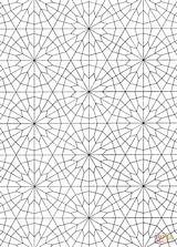 Islamic Coloring Pattern Pages Patterns Printable Geometric Crafts Supercoloring Paper Drawing Colorings Prints Fra Lagret sketch template