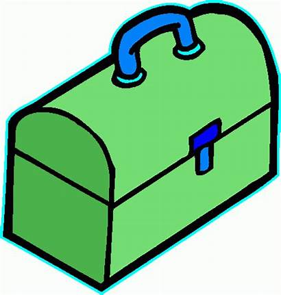 Box Tool Clipart Toolbox Cartoon Cliparts Clip