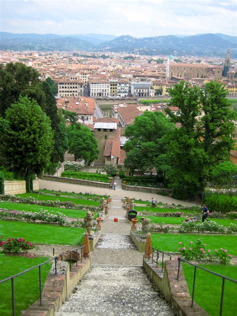 pictures of gardens in italy spring in the boboli gardens of florence through the camera s eye