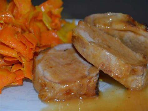 cuisine filet mignon de porc recettes de filet mignon de porc et carottes