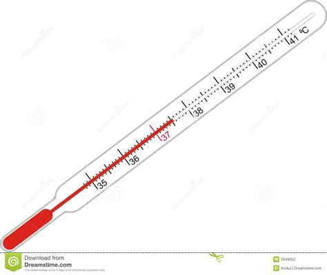 thermometer for illness and thermometer stock illustration image of