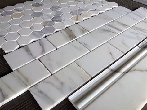 marble subway tile calacatta subway tile the builder depot blog