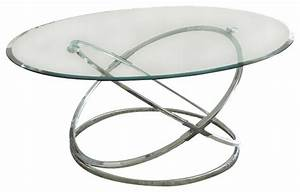 Shop houzz steve silver company steve silver orion 3 for Silver chrome coffee table