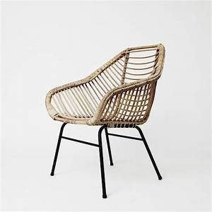 Fauteuil Rotin Design : 17 best ideas about rattan armchair on pinterest rattan rattan chairs and midcentury throws ~ Teatrodelosmanantiales.com Idées de Décoration
