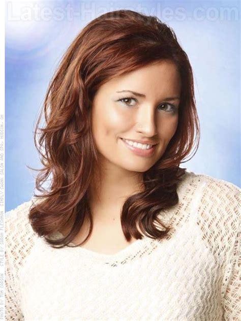 perfect medium hairstyles  square faces popular