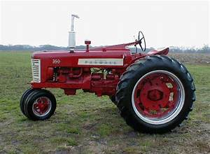 1957 Farmall 350 Tractor With Power Steering And Fast Hitch