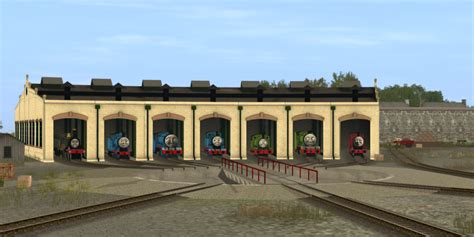 The Tidmouth Sheds by It Was An Early Morning At Tidmouth Sheds By Mh1994 On