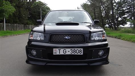 Subaru Forester Sg5 20t Cross Sport 2004 Youtube