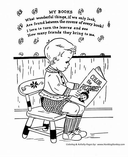 Nursery Rhymes Rhyme Coloring Colouring Pages Funny