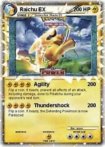 Pokémon Raichu EX 109 109 - Agility - My Pokemon Card