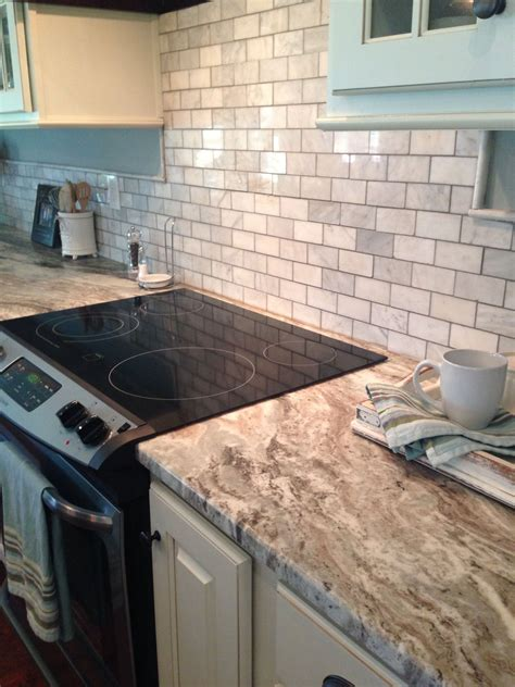 tile backsplash for kitchens with granite countertops brown granite and marble tile sheet backsplash