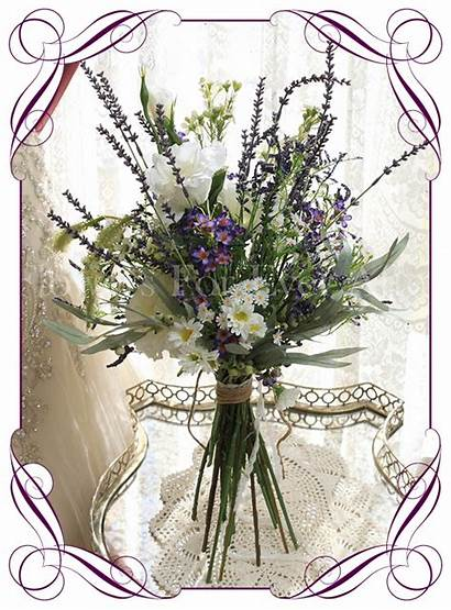 Misty Bouquet Bridal Artificial Silk Flowers Flower