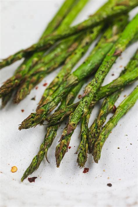 asparagus air fryer fried watchers points weight garlic