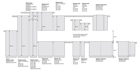 dimension meuble d angle cuisine dimensions meubles cuisine ikéa cuisine