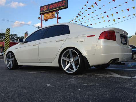 Acura Tl Custom Wheels Vossen Cv3 20x9.0, Et +42, Tire