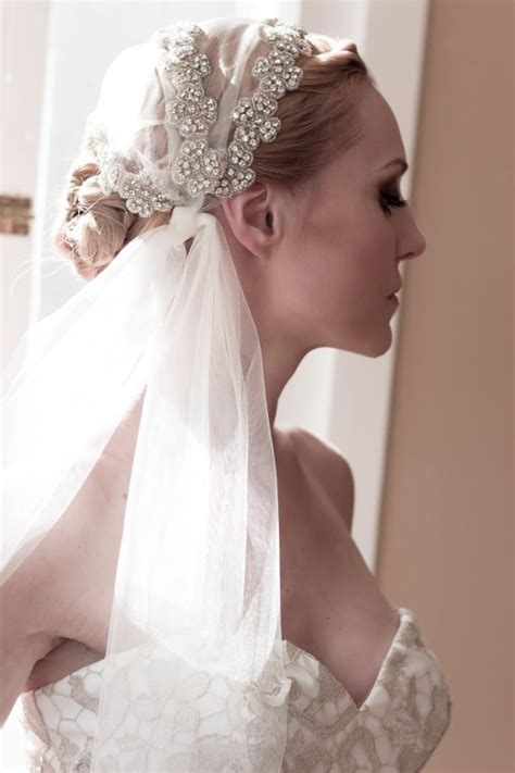 20 Stunning Wedding Hairstyles With Veils And Hairpieces