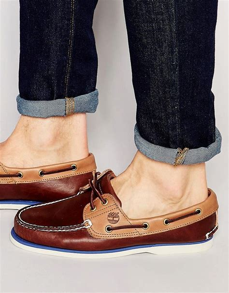 Timberland Boat Shoes Fashion by Timberland Classic Leather Boat Shoes Shoes