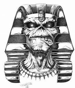 Powerslave Pharaoh Eddie   Iron maiden - eddie drawings ...
