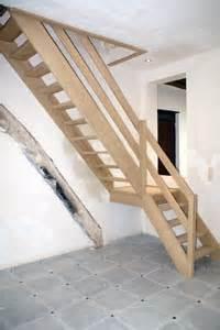 Escalier D Intérieur Pas Cher by R 233 Alisation D Escaliers En Bois Et En M 233 Tal 224 Namur