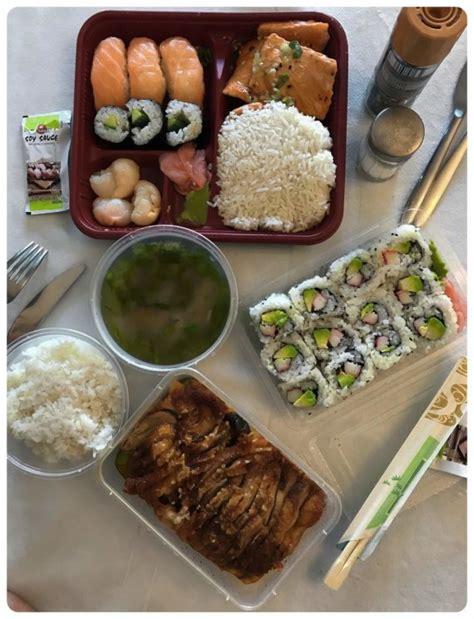 restaurant review wok sushi time  wien mjamat food blog