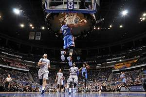 Russell Westbrook Throws Down a Monster Reverse Dunk on ...