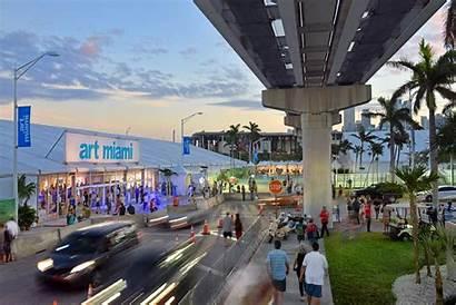 Miami Florida Overlooking Biscayne Beach Courtesy Artnet
