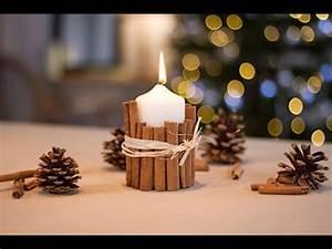 Bougies De Noel : diy no l bougie la cannelle youtube ~ Melissatoandfro.com Idées de Décoration