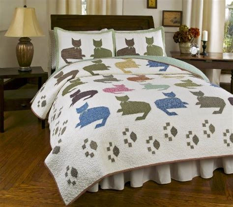 pillow shams size adorable cat print comforters and bedding sets for cat