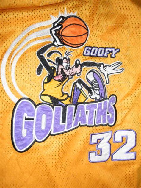 Walt Disney Goofy Goliaths Basketball Jersey #32 Xxl Ebay