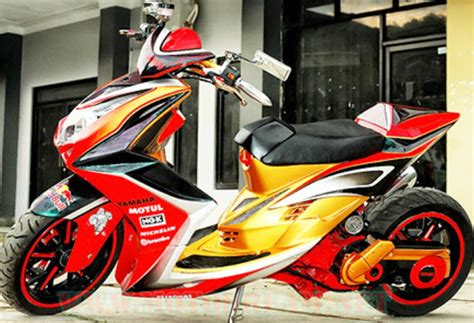 Modifikasi Mio 2013 by 300 Modifikasi Mio Soul Gt 2013