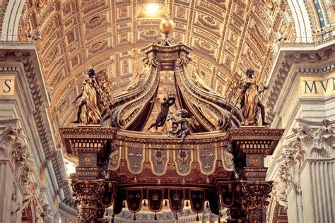 Il Baldacchino Di San Pietro by St S Baldachin S Baldachin Italian