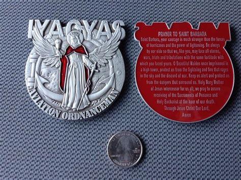 iyaoyas saint barbara medal iyaoyas aos aviation